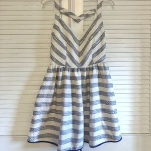 Anthropologie Line&Dot Stripe Cocktail Dress NWOT